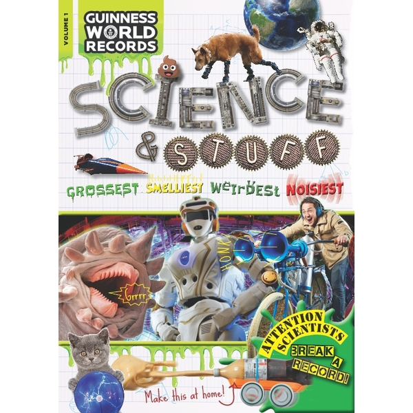 Guinness World Records Science and Stuff Paperback Book