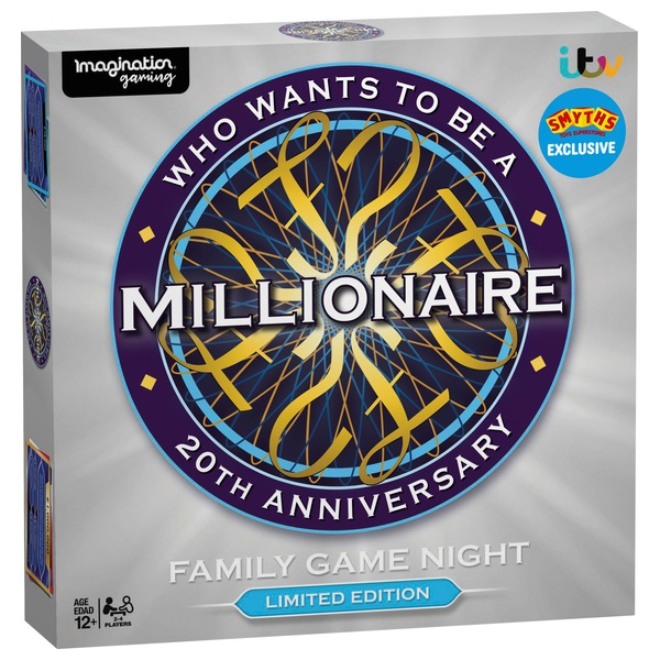 Who Wants to be a Millionaire Game 20th Anniversary Limited Edition