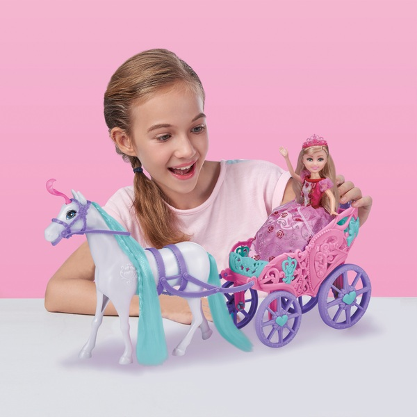 Sparkle Girlz Princess with Horse and Carriage Assortment