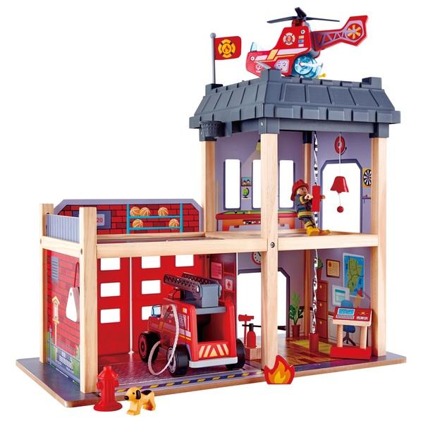 Hape Fire Station Hape Toys Uk