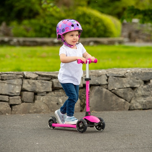 iSporter Mini LED Pink Scooter