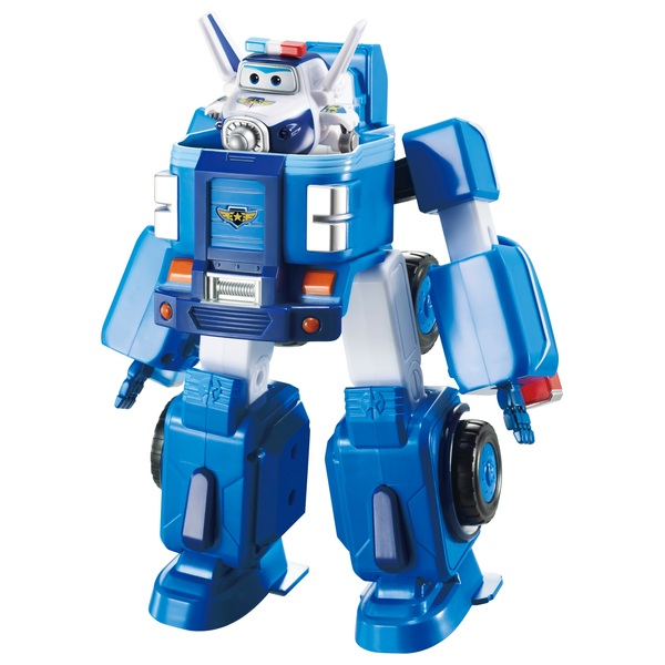 Super Wings Deluxe Transforming Paul Vehicle