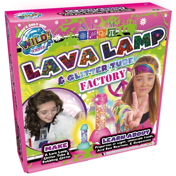 Wild Science Lava Lamp and Glitter Tube Factory
