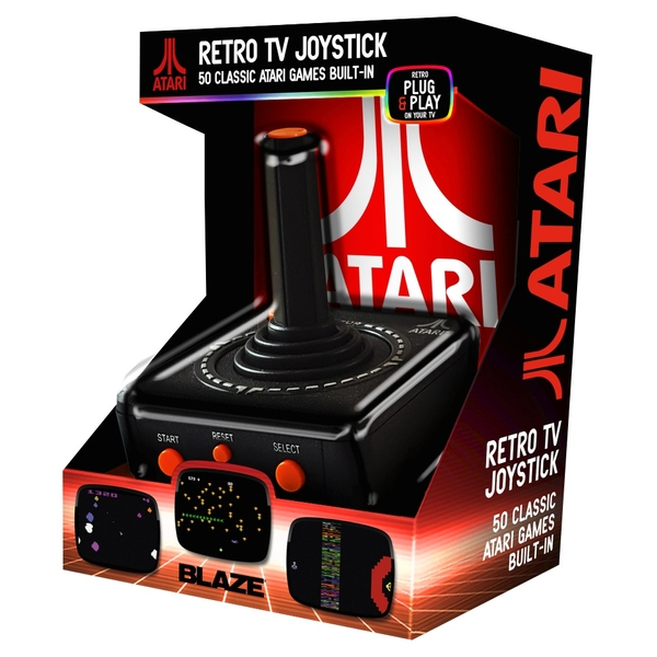 "Blaze Atari ""Retro"" TV Plug and Play Joystick 50 games"