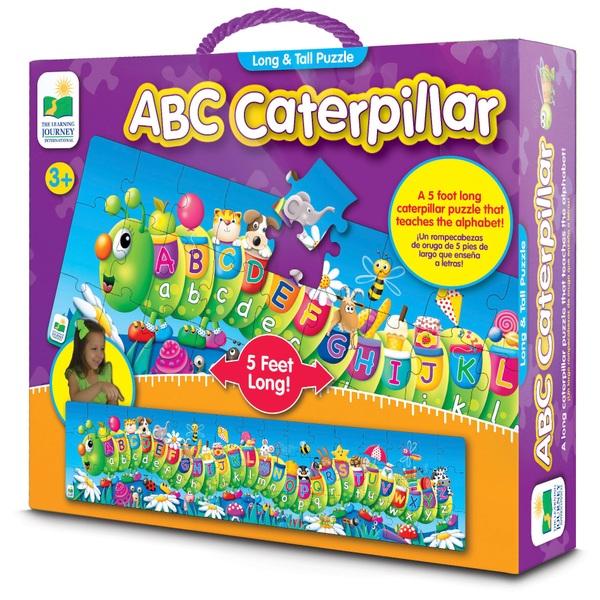 ABC Caterpillar Puzzle