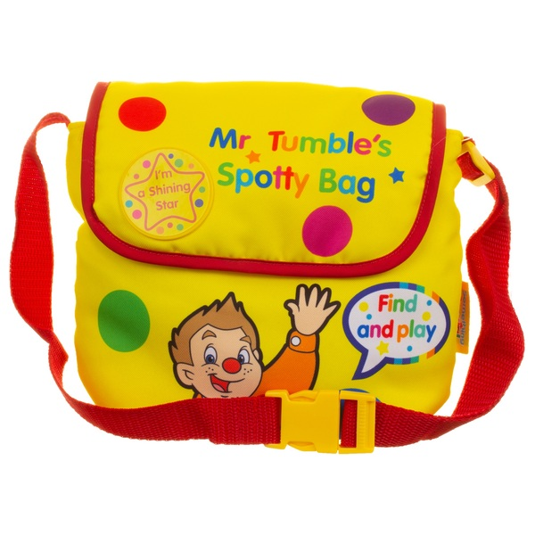 Mr Tumble's Sensory Seek and Find Spotty Bag with Fun Sounds