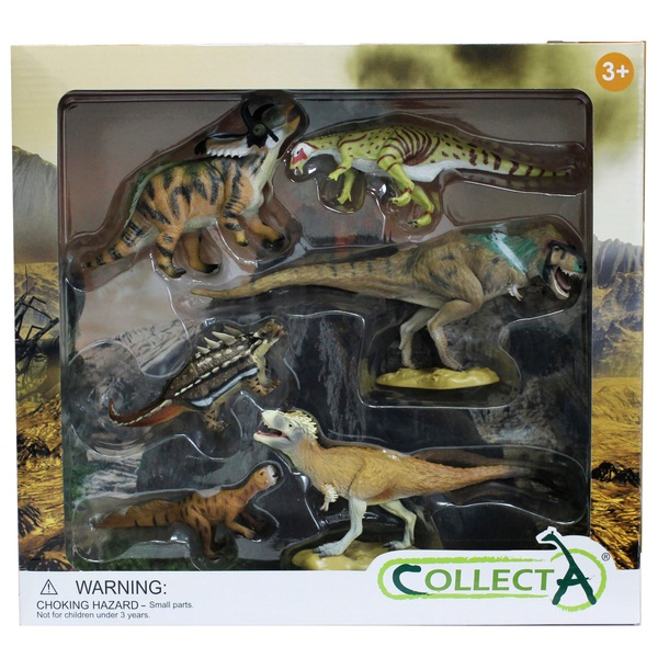 Collecta –Exotic Dino Gift Set - 6 piece count