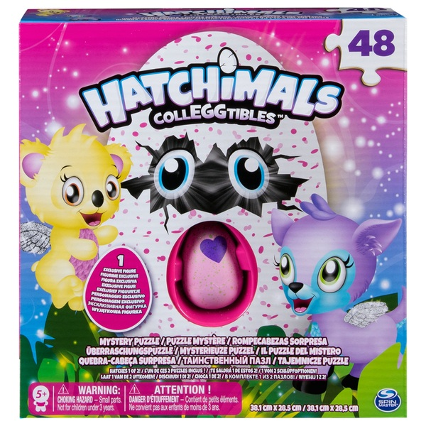 Hatchimals Mystery 48 Piece Puzzle