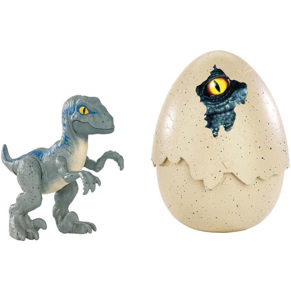 Jurassic World Movie Hatchling Velociraptor Blue