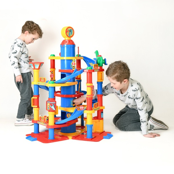 7 Storey Park Tower Playset