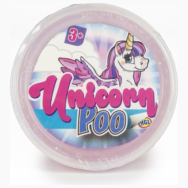 Glitter Unicorn Poo Tub