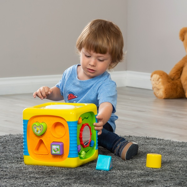 Big Steps Play Music Fun Activity Cube