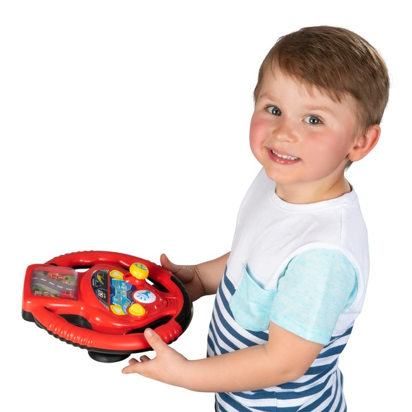 Big Steps Vroom Junior Racing Steering Wheel
