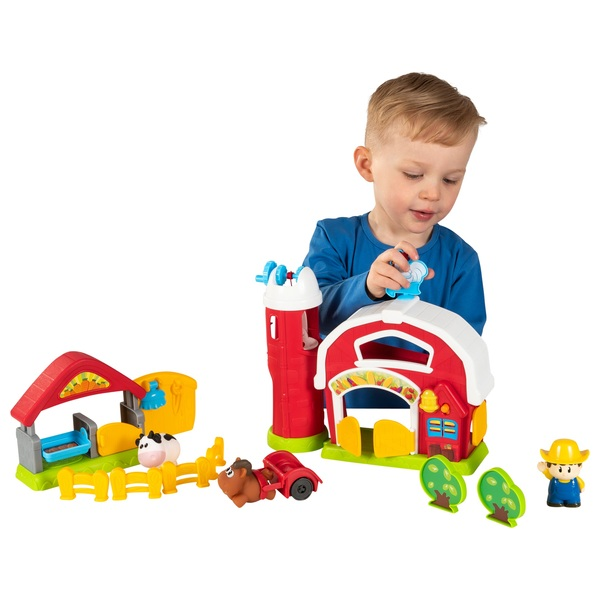 Big Steps Play Barnyard Fun Playset