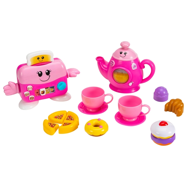 Big Steps Play Toast 'n' Fun Tea Set