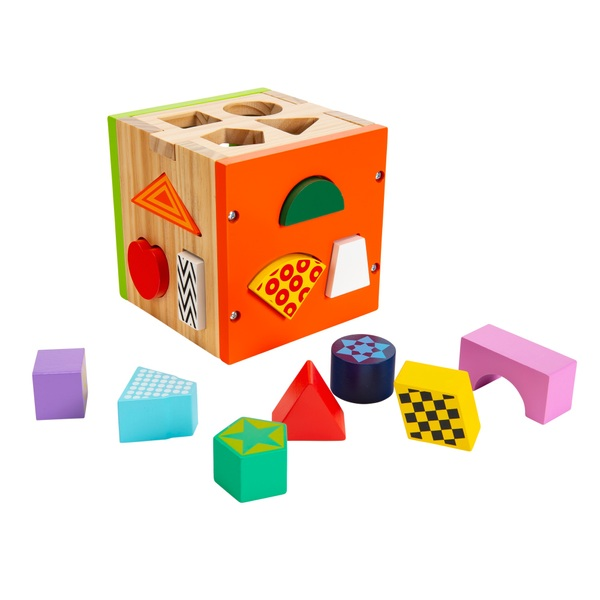 Squirrel Play Wooden Sorting Cube