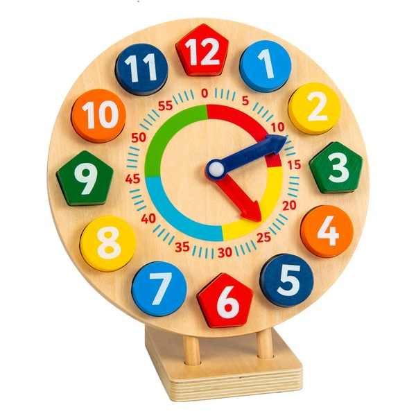 Squirrel Play Wooden Tick Tock Clock