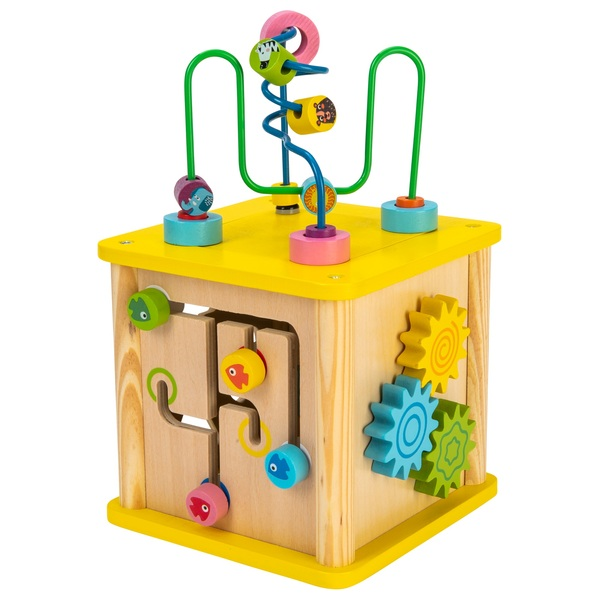 Squirrel Play Wooden Sort 'n' Play Activity Cube