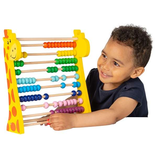 Squirrel Play Wooden Giraffe Abacus