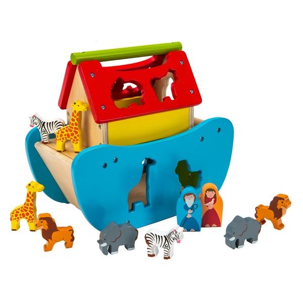 Squirrel Play Wooden Noah's Ark