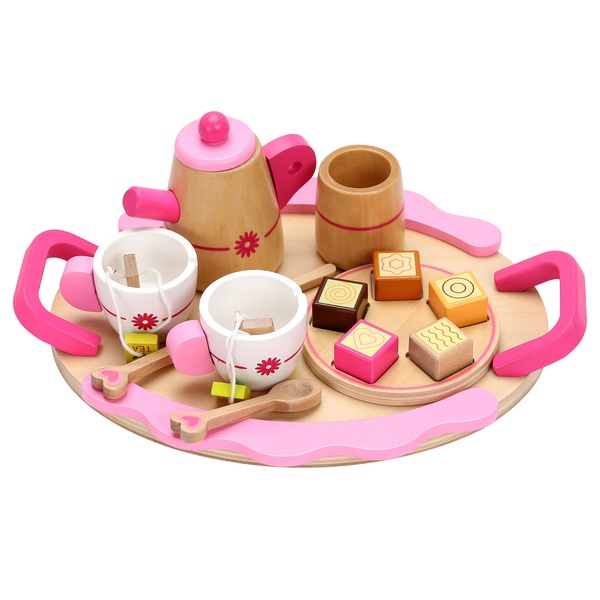 Squirrel Play Wooden Teatime Set