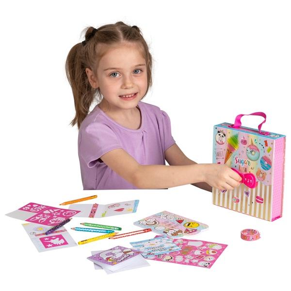 Sugar Rush My Secret Colouring Craft Kit