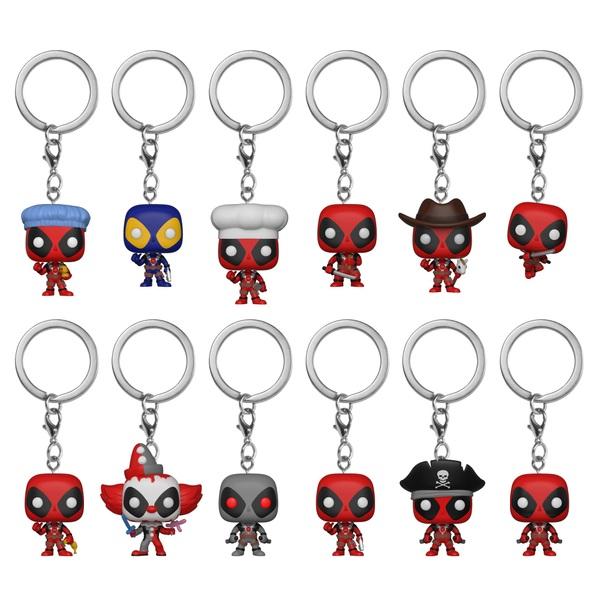 POP! Keychain: Deadpool - Assortment