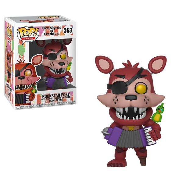 POP! Vinyl: Five Nights at Freddy's Rockstar Foxy
