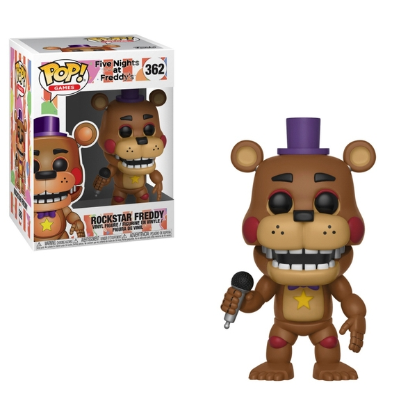 Pop! Vinyl: Five Nights at Freddy's Sim Rockstar Freddy