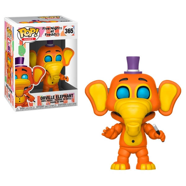 POP! Vinyl: Five Nights at Freddy's Pizza Sim Orville Elephant