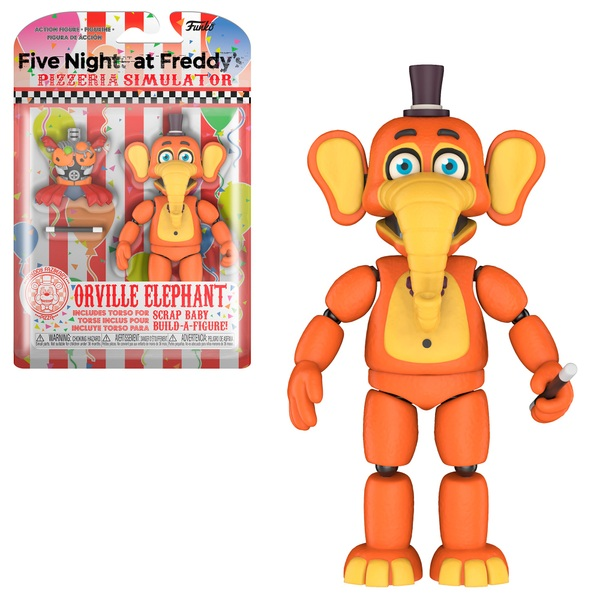 Five Nights at Freddy's Figure Pizza Sim Orville Elephant