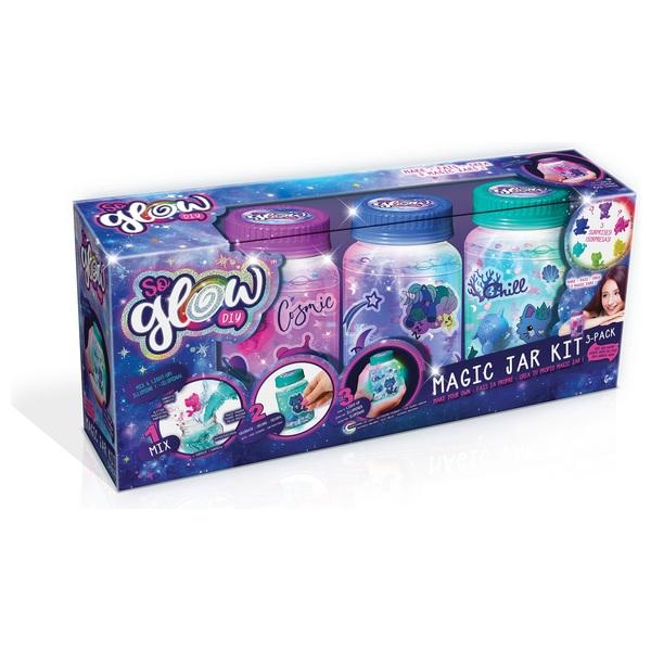 So Glow DIY Magic Jar Mini Kit 3 Pack