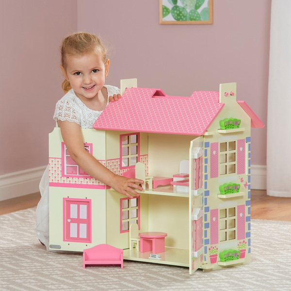 Willows Wooden Dollhouse