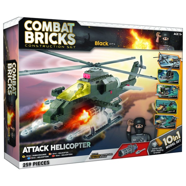 Combat Bricks Military 10 in 1 Set Combat