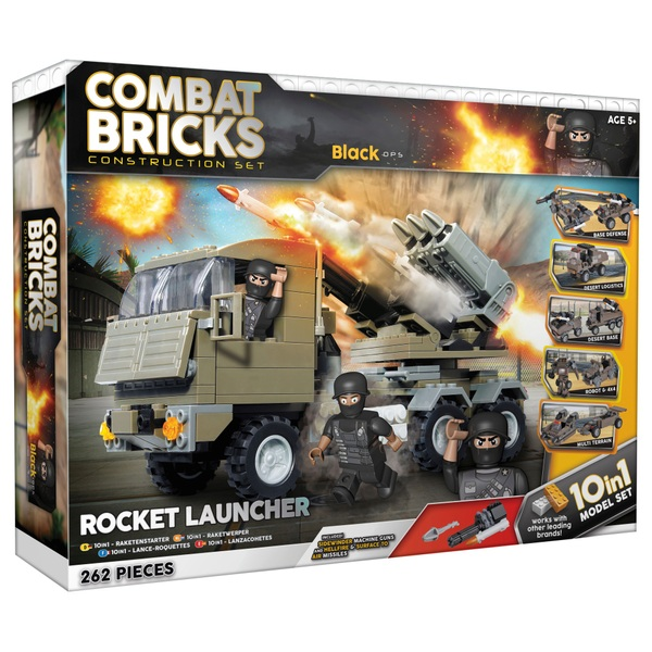 Combat Bricks Military 10 in 1 Set Military Team