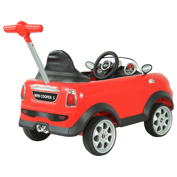 mini cooper push buggy red - ride ons uk