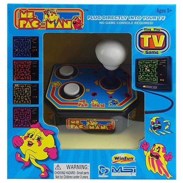 Ms Pac-Man TV Arcade Plug & Play