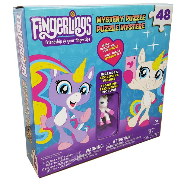 Fingerlings Unicorn Surprise Puzzle with Figure