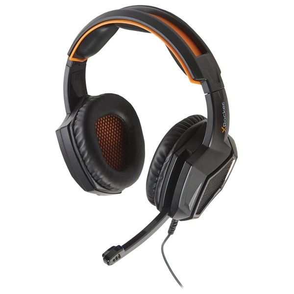 X Rocker XH3 Stereo Gaming Headset (Black/Orange)