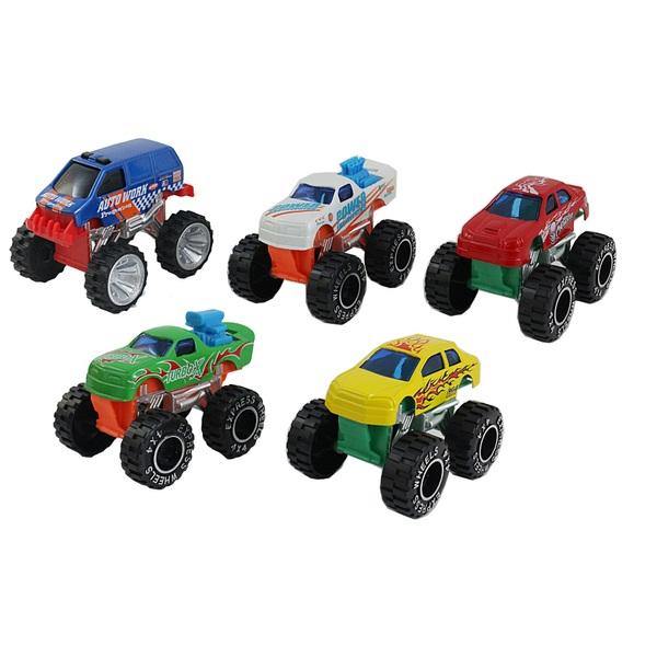 RevZ 5 Pack Monster Truck Set