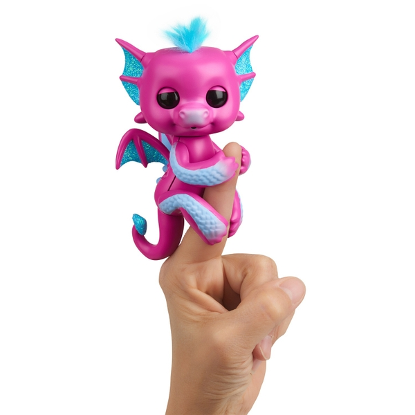 Fingerlings Interactive Baby Dragon Sandy