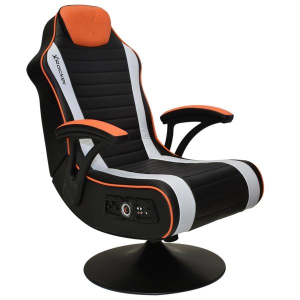 x rocker firestorm 2 1 pedestal gaming chair gaming chairs uk. Black Bedroom Furniture Sets. Home Design Ideas