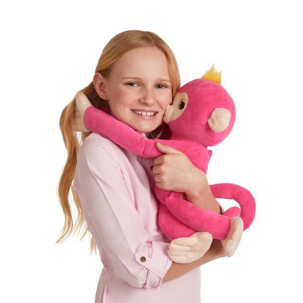 Fingerlings Hugs Pink Bella