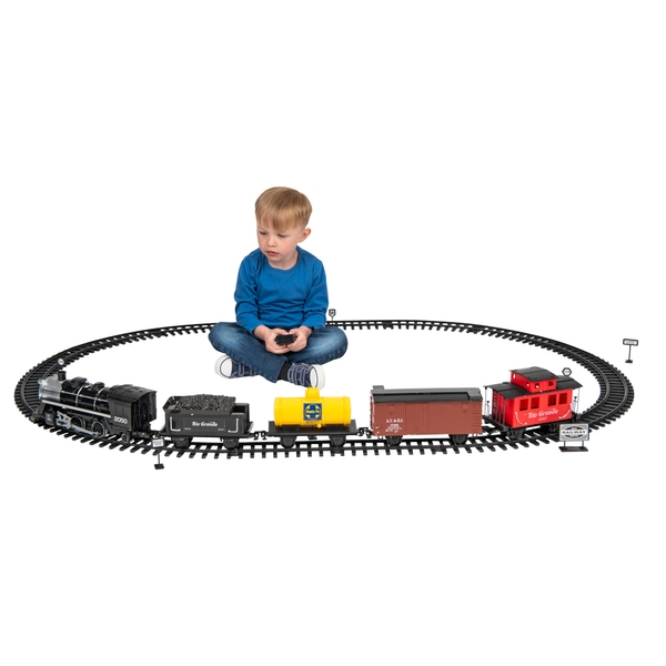 Remote Control Black Canyon Express Train Set