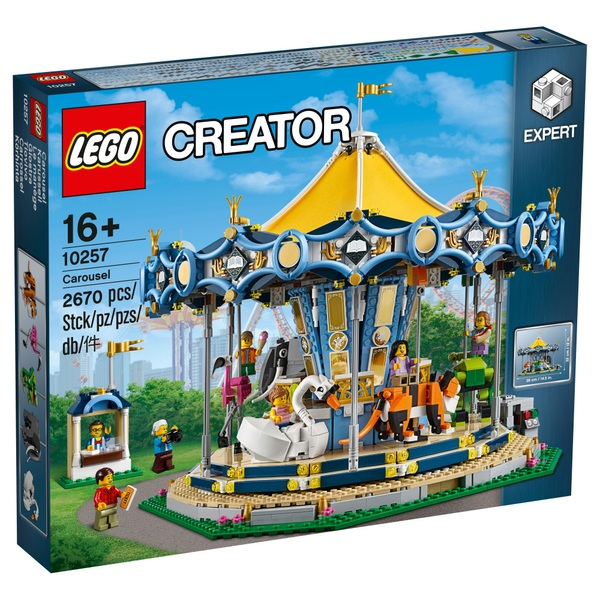 Lego 10257 Creator Expert Carousel Lego Exclusives And Hard To