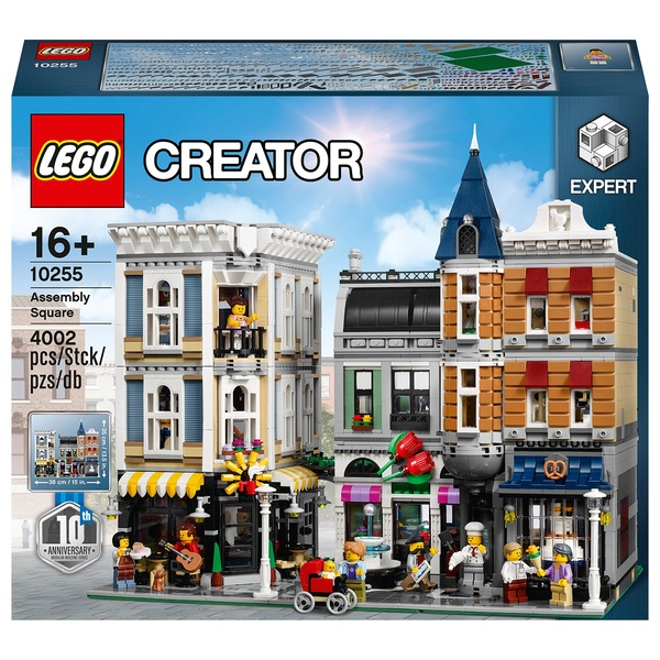 LEGO 10255 Creator Assembly Square Modular Building Toy