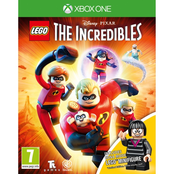 Lego The Incredibles With Mini Figure Xbox One Great