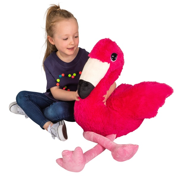 48cm Sitting Floss the Flamingo