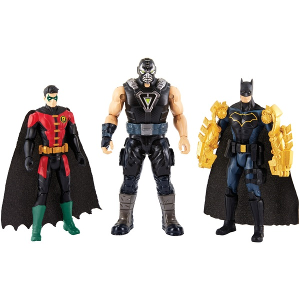 Batman Missions: Batman & Robin vs. Bane 3-Figure Pack