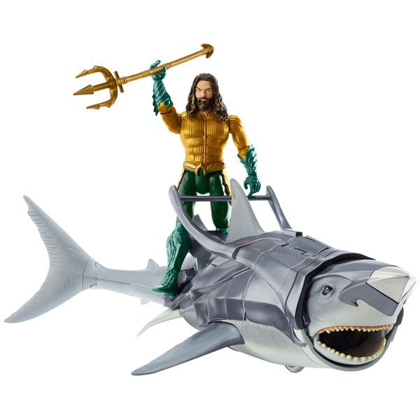 Aquaman 15cm Figure & Warrior Shark Pack